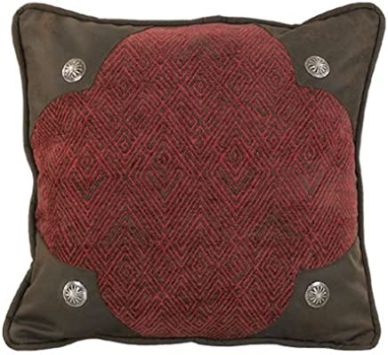 featured product HiEnd Accents Wilderness Ridge Lodge Scalloped Pillow