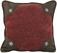 HiEnd Accents Wilderness Ridge Lodge Scalloped Pillow