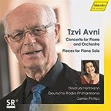 Tzvi Avni : Concerto pour piano et uvres pour piano seul. Holtmann, Philips.