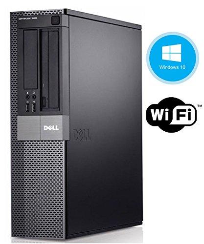Dell Optiplex 980 Business Desktop - Intel Core i5-650 3.2GHz 8GB DDR3 RAM 250GB SSD DVD Windows 10 Professional (Renewed)