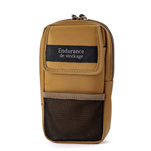 Endurance カメラバッグ用カメラアクセサリー&スマホポーチ (ダークカーキ)