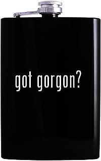 got gorgon? - 8oz Hip Alcohol Drinking Flask, Black