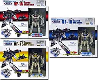 Macross: 1/100 Scale Transformable Action Figure Series 1 (Set of 3)