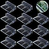 WJMY - Clip di copertura in vetro per acquario, 20 pezzi in acrilico, 6 mm e 8 mm, supporto universale per acquari senza bordi