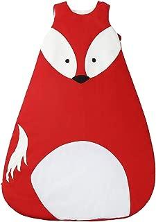 Coton Sac de couchage chaud pour l'hiver, Infant bébé garçon fille Lange, Naissance Pyjama pour enfant 0–36mois Fox-L 95cm