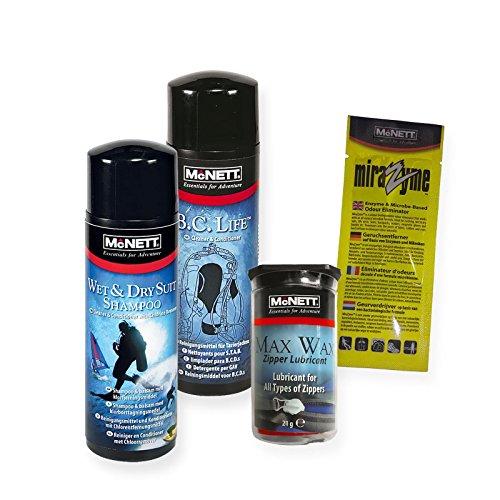 McNett - Juego de cuidado para neopreno y chaquetas.