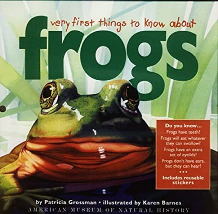 Very First Things to Know About Frogs by Patricia Grossman (1999-05-01)
