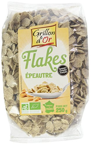 Grillon dor Flakes dÉpeautre 250 g Bio