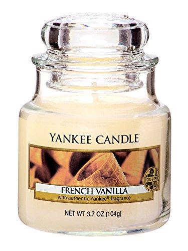 YANKEE CANDLE ヤンキーキャンドル ジャーキャンドルSサイズ フレンチバニラ