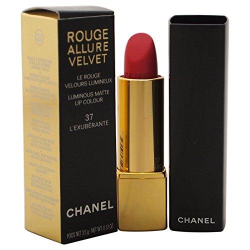 Chanel rot Allure velvet 37 - l'exubérante 3.5 g - Damen, 1er Pack (1 x 1 Stück)