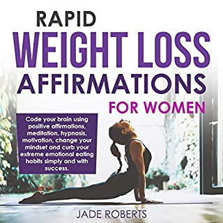 Rapid Weight Loss Affirmations for Women audiobook cover art