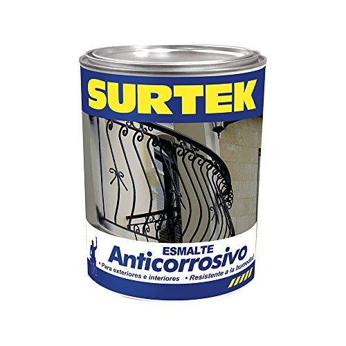Esmalte Negro Mate  marca Surtek