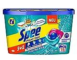 Spee Power Caps Frische-Kick 3+1, Vollwaschmittel, 16 Waschladungen, Reinheit, Strahlkraft und Frische für deine Wäsche zum schlauen Preis, 20-95°
