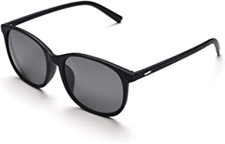 Jcerki Oversize Frame nearsighted Sunglasses Glasses-2.00 Strength Myopia Glasses Men and Women Lightweight Myopia Spectacles