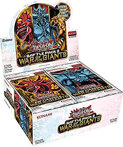 Reservations box Yu-Gi-Oh English Battle Pack 2  War of the Giants Battle Pack 2 - War Of The Giants - 1st Edition (japan import)