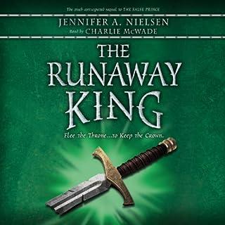 The Runaway King audiobook cover art