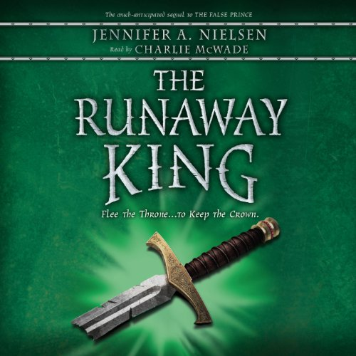 The Runaway King audiobook cover art