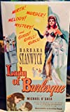 Barbara Stanwyck: Lady of Burlesque [VHS]