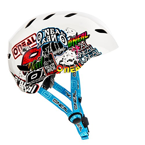 Oneal Dirt Lid Youth Junkie Casco Bicicleta, Niños, Blanco