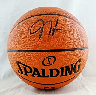 Autographed Signed James Harden Nba Spalding Basketball - Beckett Auth Black - Certified Signature