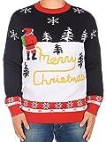 Schnee Puller Pullover Merry Christmas Weihnachtspullover