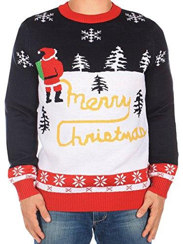 Tipsy Elves Ugly Christmas Sweater - Yellow Snow Sweater