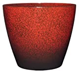 Classic Home and Garden 807-376R Premiere Collection Planter, Vogue 8', Lava Red
