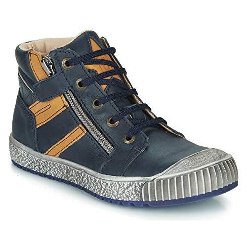 CATIMINI RAMBOUTAN Sneakers jongens Marine/Oker Hoge sneakers