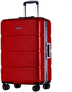 Luggage case Large Capacity Box Business Travel Student Adult Trolley case red 20 inch