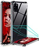 LeYi for Samsung Galaxy A31 Case and 2 Tempered Glass