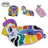 Anillo De Natación , Chickwin Cute Niños Infantil Hinchable De natación Anillo Flotador Asiento Barco Piscina Baño Aeguridad (Cebras)