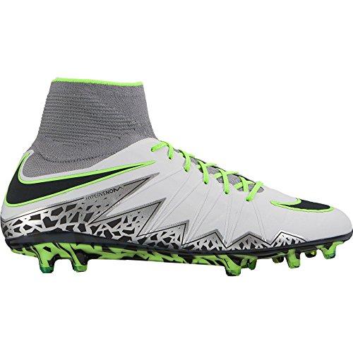 Nike Herren Hypervenom Phantom ii fg Fußballschuhe Plateado (Pure Platinum/Black-Ghost Green) 45 EU