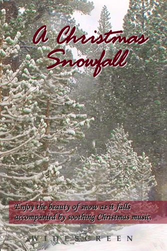 A Christmas Snowfall - enjoy a white Christmas wherever you live along with your favorite Christmas carols, turns your TV into art