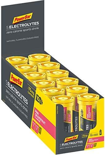 Powerbar 5 Electrolytes Sports Drink Raspberry Pomegranate - 12 Unidades