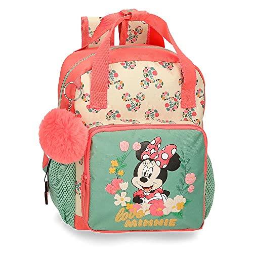 Disney Minnie Golden Days Mochila Preescolar Multicolor 23x28x10 cms Poliéster 6,44L