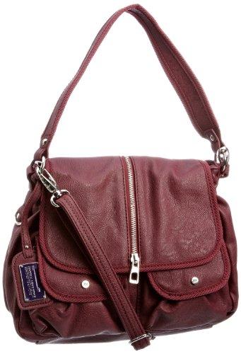 Mexx 3FRE18501, Damen Handtasche, Violett (Amaranth)