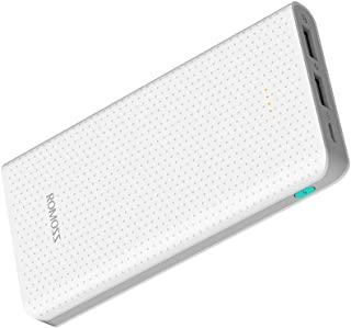 ROMOSS 10000mAh Portable Charger, Long Lasting Power Banks, Fast Charge Power Supply, Ultra-Compact External Battery Packs Compatible with Cellphones, Tablet & Other Devices