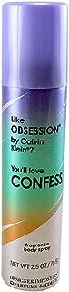 Parfums De Coeur Confess Fragrance Deodorant Body Spray 2.5 Fl Oz