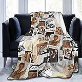 Needlove Ultra Soft Flannel Fleece Blanket JJ Rudy Pankow Aesthetic Outer Banks Collage Stylish Bedroom Living 50'x40' Room Sofa Warm Blanket for Adult