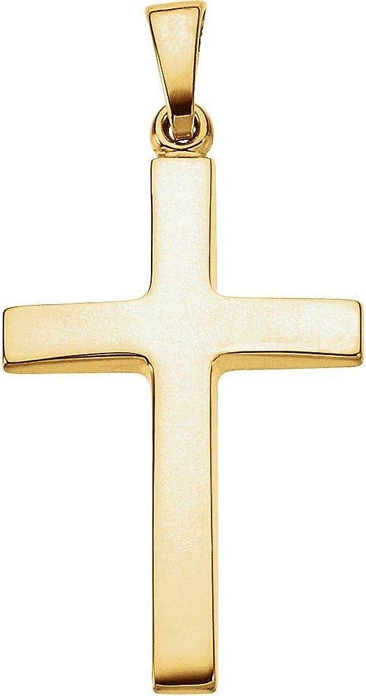 23x15.9mm Cross Crucifix Charm Pendant (23mm x 15mm)