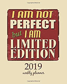 2019 Weekly Planner: Calendar Schedule Organizer and Journal Notebook With Inspirational Quotes And