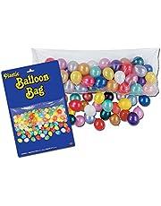 حقيبة إسقاط البالونات البلاستيكية من بيستل للاحتفال بعيد الميلاد وحفلة رأس السنة