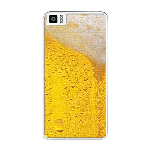 Tumundosmartphone Funda Gel TPU para BQ AQUARIS M5.5/M 2017 diseño Cerveza Dibujos
