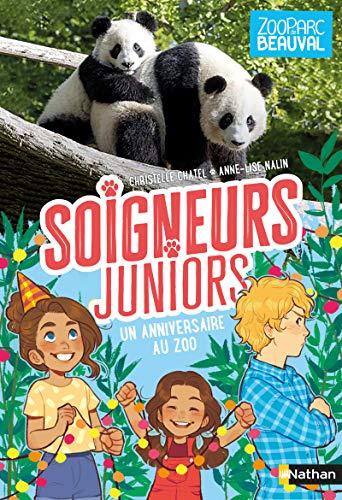 Soigneurs juniors - un anniversaire au zoo - tome 1 - dès 8 ans (1)