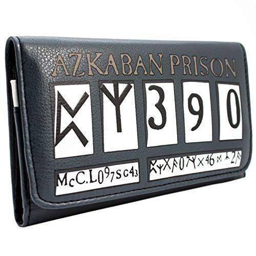 Harry Potter Gefangener von Azkaban Grau Portemonnaie Geldbörse