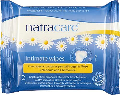 El algodón orgánico certificado íntimo toallitas, toallitas - 12 Natracare