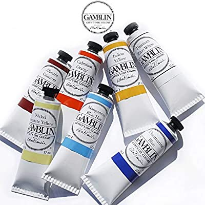 Gamblin Artist Oil Color Paint - Professional Curated Collection of Assorted Colors - 37ml Tubes