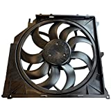 TOPAZ 17113442089 600W Brushless Cooling Fan Assembly for BMW X3 E83 2004-2010