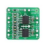 KEPUSHIYE HT6872 Tablero de Amplificador diferencial 2x3W Clase Digital D Amplificador de Audio Módulo Entrada diferencial 3.6-6.5V