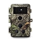 "(2020 Upgraded) Meidase SL122 Pro Trail Camera, 16MP 1080P, Enhanced Night Vision, 0.2s Motion Activated, 2.4"" LCD, Wildlife Game Camera"